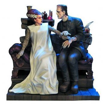 THE BRIDE OF FRANKENSTEIN MODEL KIT BY MOEBIUS MODELS